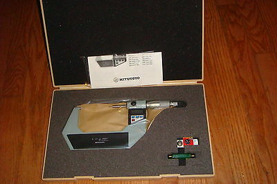 Mitutoyo 342-713 Digimatic Point Micrometer Inch Metric 2-3 New