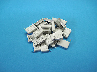 25 Evox Mmk0 Mmk Radial Metallized Polyester Film Capacitors 1.2uf 5 100v