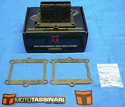 Honda TRX250R Fourtrax V-FORCE 3 Reed Valve Replacement Petal Set 1986-89 3P682M