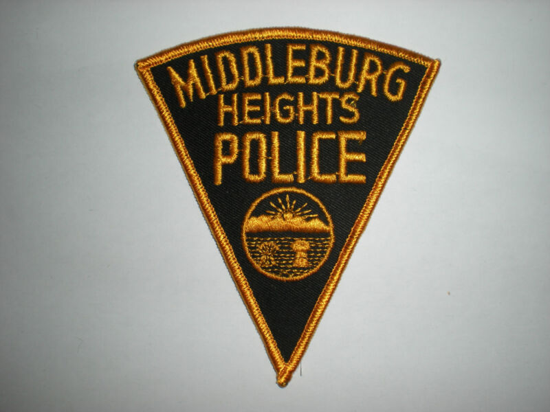 MIDDLEBURG HEIGHTS, OHIO POLICE DEPARTMENT PATCH