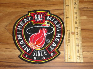 MIAMI HEAT SINCE 1988- 3 1/2 INCH PATCH SWEET