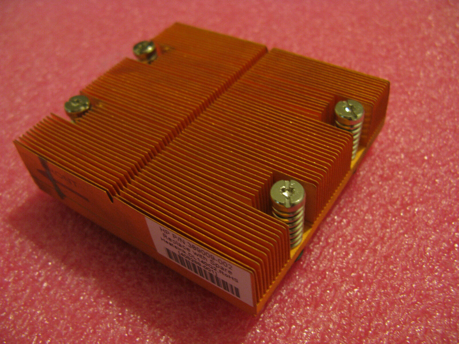 HP DL140-G2 CPU Heatsink 389009-002 408288-001