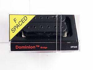 DiMarzio F-spaced Dominion Bridge Humbucker Black DP 245