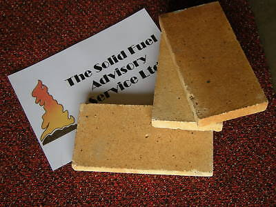 (Replacement Fire bricks Woodburner, Woodburning Stove )