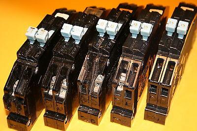 1 Zinsco 15 Amp Twin Rc-38 Breaker Breaker Save Minor Chips