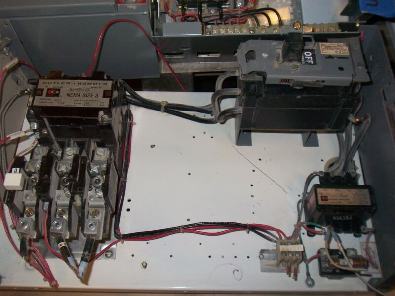 WESTINGHOUSE CUTLER HAMMER SIZE 3 125 AMP MOTOR STARTER A10ENO MCC MCCB BUCKET