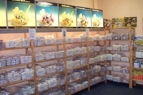 (13 €/kg) Eispulver Set 4 aus 33 Eissorten für Haushaltseismaschinen, Eis machen