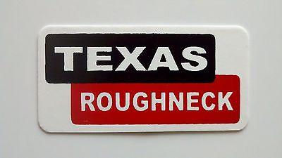 3 - Texas Roughneck Roughneck Hard Hat Oil Field Tool Box Helmet Sticker