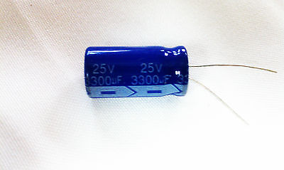 5 Pcs 3300uf 3300mfd 25v Electrolytic Capacitor 85 Degrees Usa Free Shipping