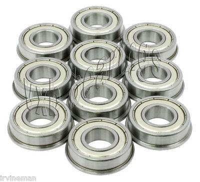 10 Flanged Sfr166zz 316x 38x 18 Sfr166z Stainless Inch Steel Ball Bearings