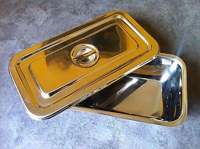 Instrument Tray Wlid 8.5x4.5x 2 Surgical Dental Instrument