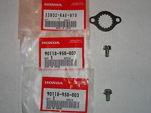 Front Sprocket Lock Bolts Washer TRX400EX TRX 400EX XR400R XR400 XR 400R 400 EX