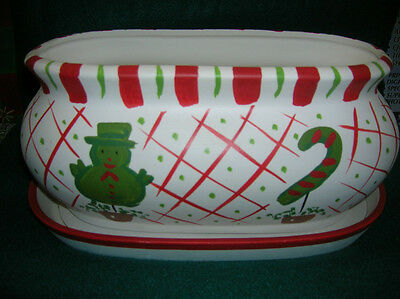 HAND PAINTED CERAMIC PLANTER,( ANNIE'S TREASURES) CREATE YOUR OWN IDEA   (NEW)](Halloween Painting Ideas)