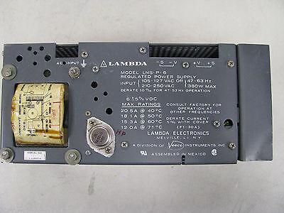 Lambda Veeco Power Supply Part Lns-p-6 Nsn 6130-01-294-2127