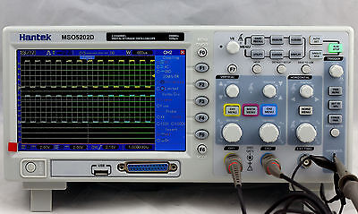 Hantek MSO5202D 200MHz 2 in 1 Digital Oscilloscope 2 Canaux 1GSa//s Analyzer