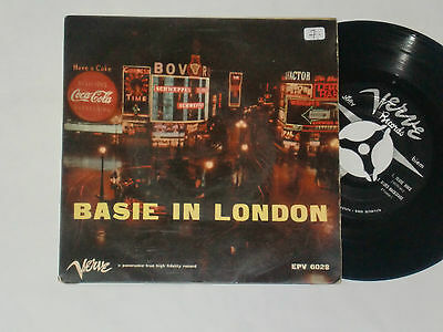 C. BASIE AND HIS ORCHESTRA -Basie In London- 7""