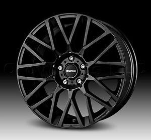 MOMO Car Wheel Rim 18 x 8 Revenge Matte Black 4 x 100 & 4 x 114.3 mm RV80841442B