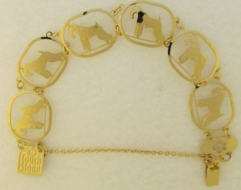 Soft  Coated Wheaten Terrier Jewelry  Bracelet