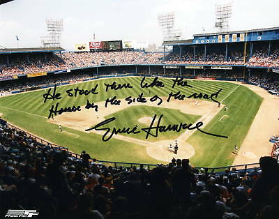 "ERNIE HARWELL Detroit Tigers pp SIGNED 8""x10"" Photo RIP"