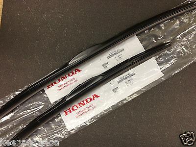 Genuine OEM Honda 08-12 Accord 4 Dr & Crosstour Front Windshield Wiper (Honda Accord Windshield Wiper Blades)