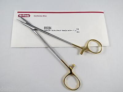 Hu Friedy Micro Vascular Pattern Needle Holder 18 Cm 7 Perma Sharp Nh5084
