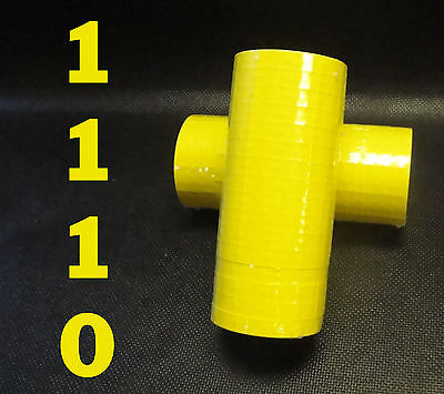 Labels Yellow For Monarch 1110 1 Sleeve 16 Rolls