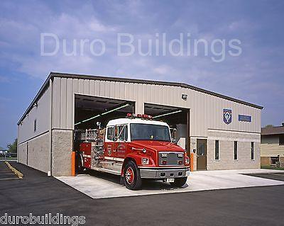 Durobeam Steel 40x100x16 Metal Building Kit Emt Police Fire Structure Direct