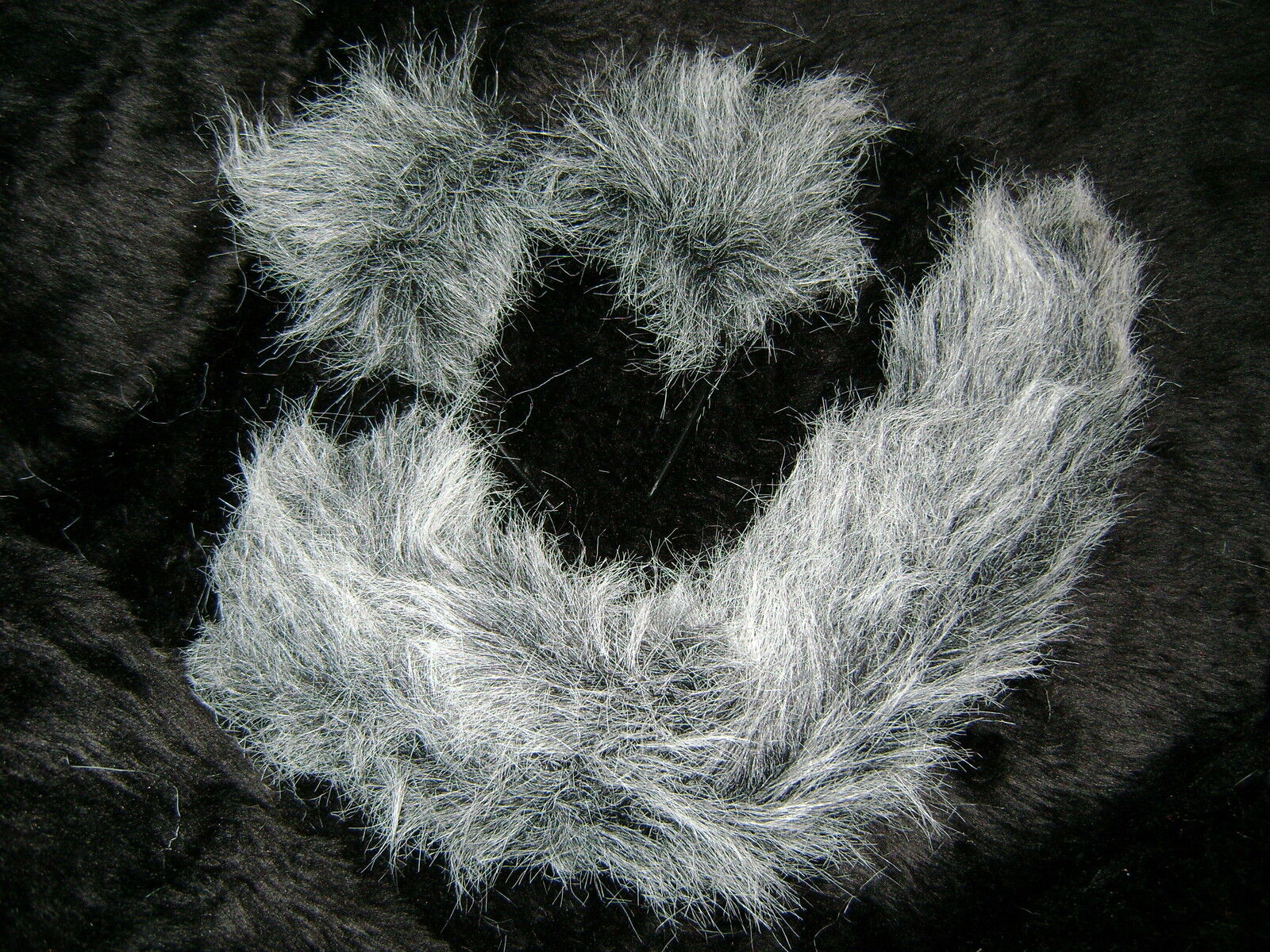 Toto Dog Ears And Tail Set Wizard Of Oz Fancy Dress Grey//White Tipped Faux Fur