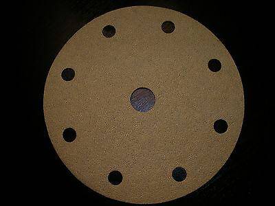 Abrasive Sanding Discs Hook Loop 6 Inch 120 Grit Box Of 100