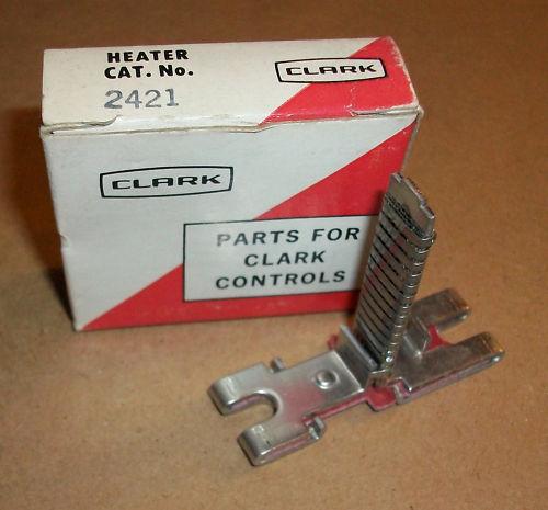 Clark Motor Starter Overload Heater 2421  NEW