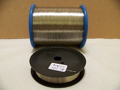 Pure Nickel Wire Non Resistance Wire  32 Awg 100 Ft