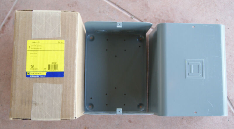 SQUARE D by Schneider Electric NEMA Type 1 Enclosure 9991LG1 Ser. A