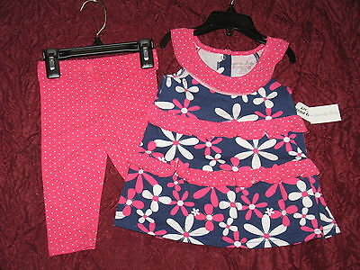 Girls New outfit by Specialty baby 2 piece set summer clothing flowers (Specialty Baby Clothes)
