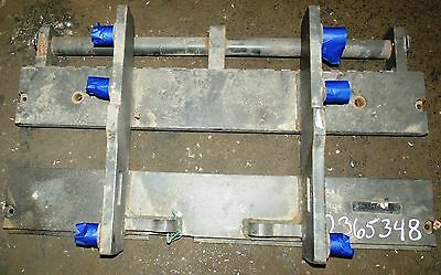 2365348 Clark Forklift Upright Mast Carriage Weld Class 2 Ii Used 37x16