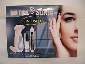 Nutra Luxe MD Nutra Sonic INFUSOR anti-wrinkle System for toning and lifting