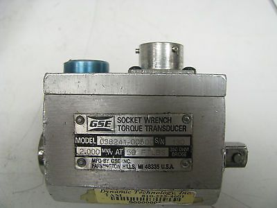Gse Socket Wrench Torque Transducer 50 Ft Lbs - Gse19