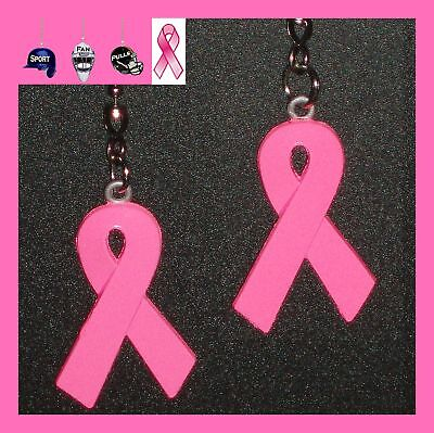 Pink Ribbon Items (BREAST CANCER SUPPORT (2 PINK RIBBON) CEILING FAN PULLS - eBay Giving Works)