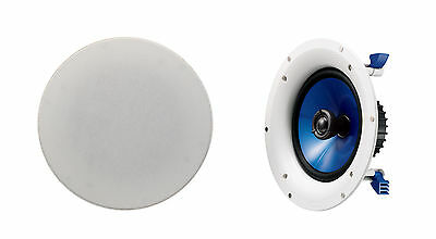 """Yamaha NS-IC800 8"""" In-Ceiling Speakers x 2 - RRP $549.00"""