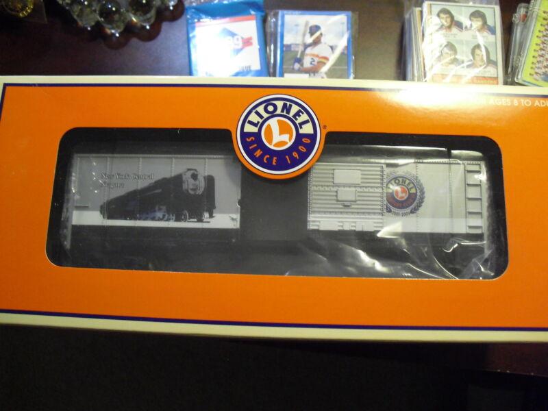 Lionel O Gauge Niagara BC Century Club Box Car 39215 NIB