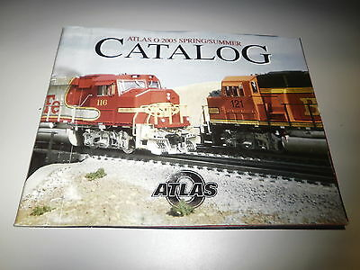 ATLAS O 2005 SPRING/SUMMER CATALOG FULL COLOR 51 PAGES BRAND NEW- L48