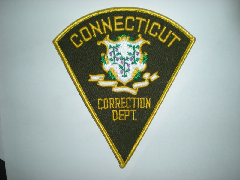 CONNECTICUT CORRECTION DEPARTMENT PATCH