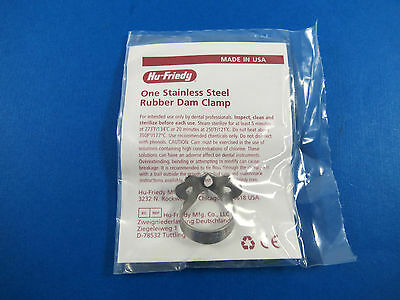 Dental Clamp Rubber Dam No 01a Rdcm1a Hu Friedy