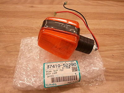 New Kubota 37410-52290 Amber Hazard Winker Light B L M Series Tractors