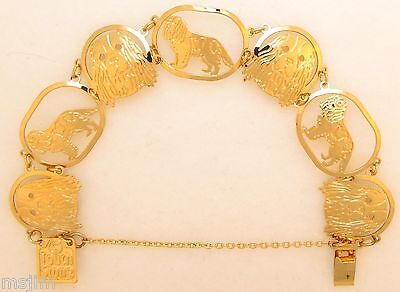Cavalier King Charles Jewelry Gold Bracelet by - Cavalier King Charles Jewelry