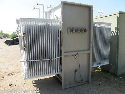 Ge 3000 Kva 13800 X 600 Volt Substation Transformer T683
