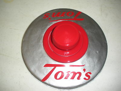 TOMS PEANUT DECAL FOR STORE JAR LID  DECAL ONLY 2/5.00 FREE SHIPPING