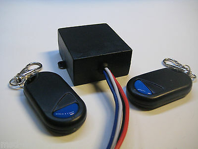 12V 15A dry contact 0v out momentary relay switch with 2 remote key fob RP11