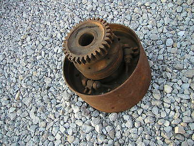 John Deere B Tractor Nice Original Jd Clutch Belt Pulley Drive Gear