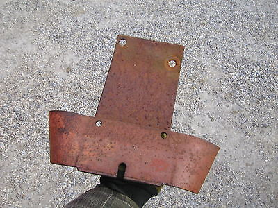 Allis Chalmers Wc Tractor Ac Pto Shield For Platform Style Rear Hitch Assembly