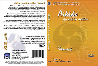 Aikido Movement Vol 1 DVD NEW jujutsu judo hapkido budo